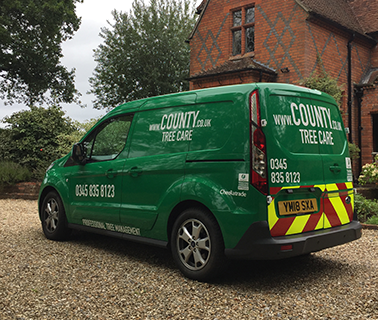 county-stump-services-van